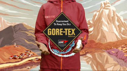 Gore-Tex - C-Knit technology online advertising